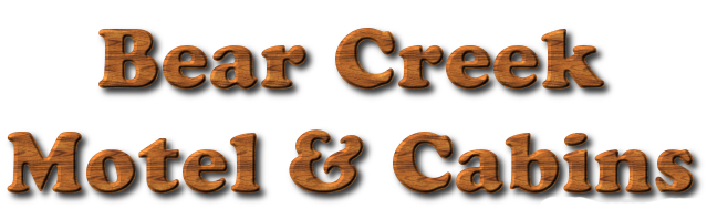 Bear Creek Motel and Cabins Logo