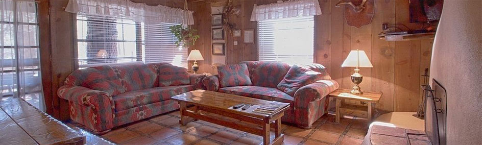 Cabin C at Bear Creek Motel and Cabins, is a 2 bedroom with 2 King Beds